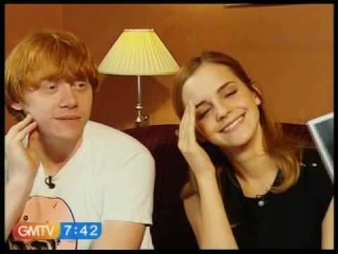Emma Watson and Rupert Grint Interview GMTV 07/07/09