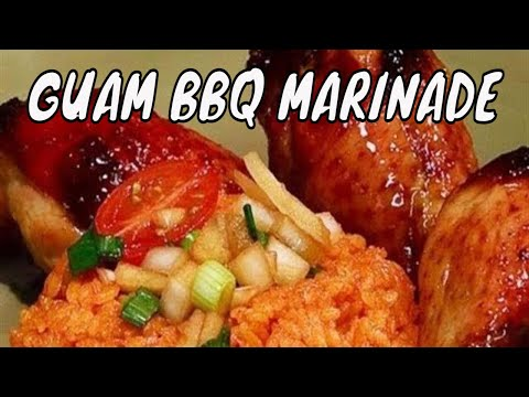 Chamorro bbq or Guam bbq marinade