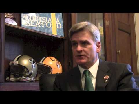 Rep  Bill Cassidy, M.D. on Louisiana Seafood
