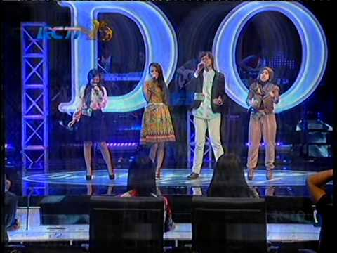 Indonesian Idol 2014- Eliminasi Group (ryan, Nowela, Maesarah, Melinda) - Mama Papa Larang - Judika video