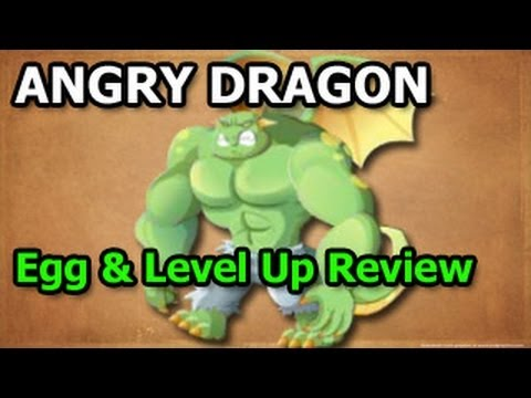 ANGRY DRAGON Dragon City How To Breed and Level Up Fast Review