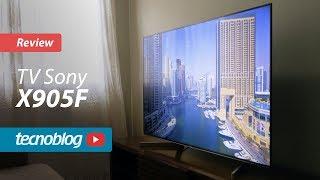 TV Sony X905F - Review Tecnoblog