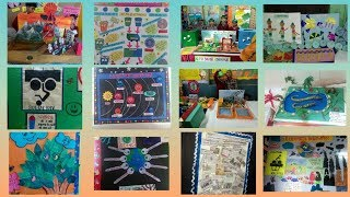 School project craft || School exhibition ideas || Craft ideas for children ||