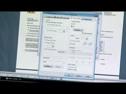 Epson Printer   How to Print Two-Sided (Duplex)