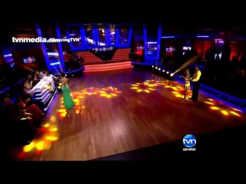 Fuerte caída de Marelissa Him bailando salsa en Dancing with the Stars