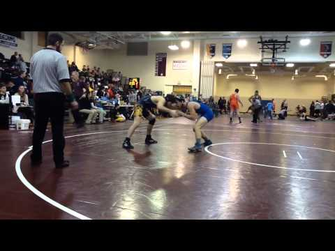 John Handley High School Individual Wrestling Tournament - Saturday, 18th January 2014 - Round #1