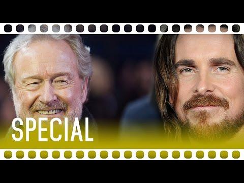 WAHRE FILMGÖTTER: CHRISTIAN BALE & RIDLEY SCOTT IM INTERVIEW | EXODUS SPECIAL