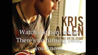 Watch Kris Allen Before We Come Undone video