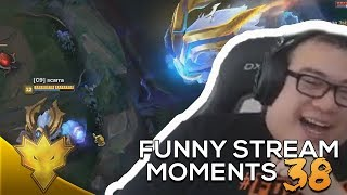 Scarra's INSANE ORNN Ulti! - CLEANEST Lee Sin Escape! - League of Legends Funny Stream Moments #38