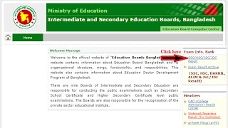 SSC Result 2017 | Education Board Result | BD Result Info