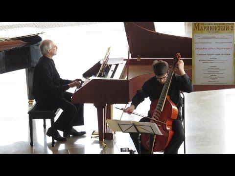 Букстехуде, Дитрих - Соната для виолы да гамба, скрипки и бассо континуо ре мажор