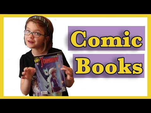Comic Books Gotham Academy and Squirrel Girl | Day 1087 | ActOutGames