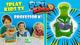 Superzings Series 2 Professor K Ultra Rare FULL BOX