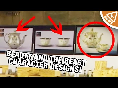 Beauty and the Beast Featurette Reveals Character Designs! (Nerdist News w/ Jessica Chobot)