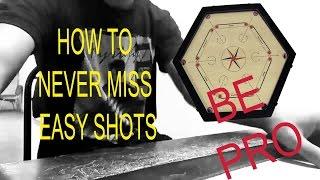 HOW TO NEVER MISS EASY SHOTS EXPLANATION  BY ADITYA PADAWE 