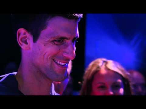 Novak Djokovic rocks out with Keith Urban - Australian Open 2015