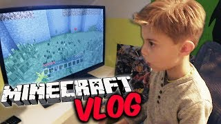 Leon ist im MINECRAFT Fieber 😱  FAMILY VLOG mit Lulu & Leon - Family and Fun