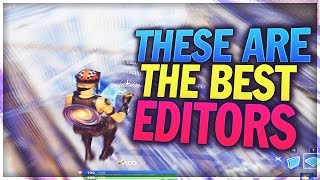 These are the 5 BEST editors in Fortnite... (Underrated)