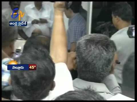 DMK Chief M  Karunanidhi Files his Nomination at Tiruvarur