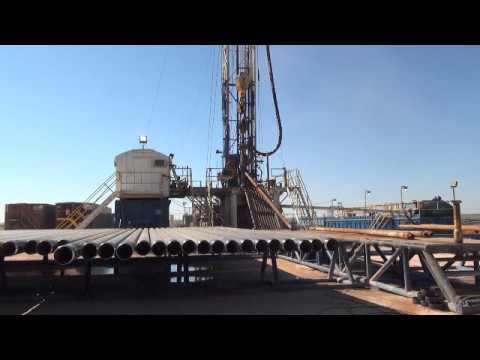 Plains Ranch Well No. 3 - Drilling with United Rig 33