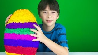 Opening a BIG SURPRISE EGG!
