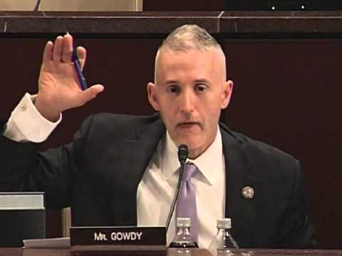 Gowdy Questioning during Benghazi Select Committee Hearing 2