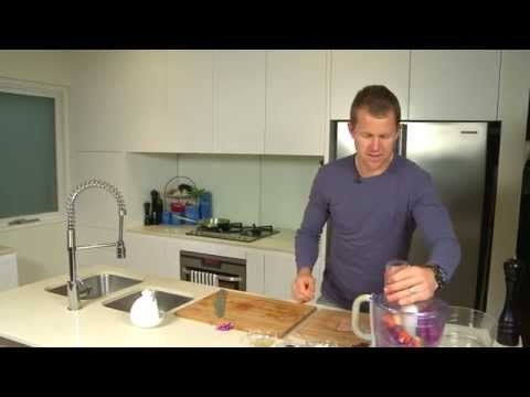 Healthy Eating with Ryan O'Keefe   Gemfish & Raw Vegetable Salad