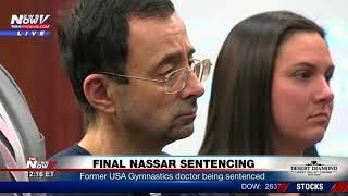 FULL NASSAR SENTENCING: Former USA Gymnastics Doctor Larry Nassar Sentenced (FNN)