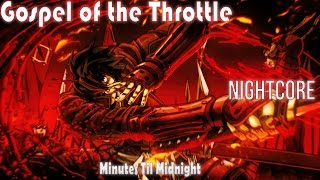 Nightcore - Gospel of the Throttle (Drifters Opening)