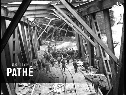 Remagen Bridge Destroyed (1945)
