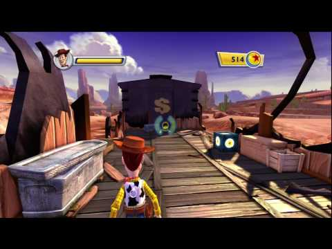 Toy Story 3 Video Game - First mission - Part 1