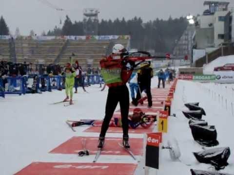 Ole Einar Bjoerndalen podczas treningu w Nowym Meście