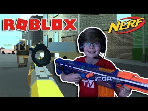 NERF BATTLE!!! Roblox Nerf FPS 2017