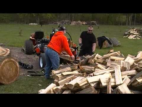All Wood Log Splitter.....Bloodwood Series