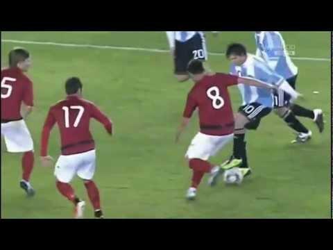 Lionel Messi en la Seleccion Argentina-HD
