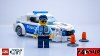 Police Patrol Car - LEGO CITY 60239 Speed Building Review + Instruction