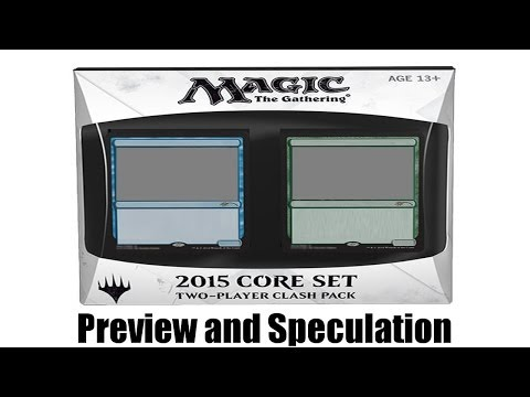 M15 Core Set Clash Pack Analysis