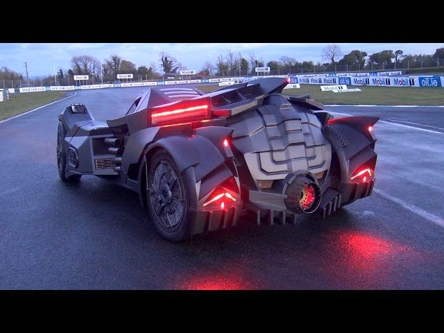 Real Life Arkham Knight Batmobile The Awesomer