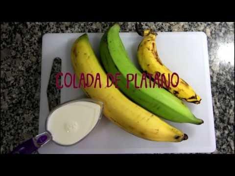 Colada de Plátano