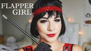 1920s Flapper Girl Tutorial | Halloween