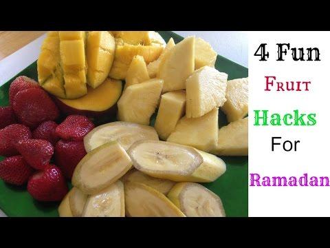 4 Fun Fruit Hacks For Ramadan *Nazkitchenfun*