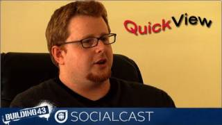 Socialcast QuickView