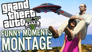 Grand Theft Auto 5 - GTA 5 Funny Moments Gameplay Montage [PC]