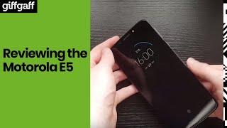 Motorola E5  |  Phone Review  | giffgaff