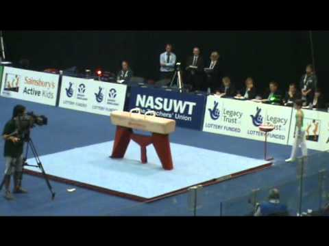Rhys McClenaghan UK School Games 2011 Gymnastics