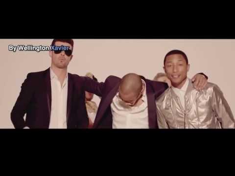 Robin Thicke Ft. T.i., Pharrell -  Blurred Lines [legendado   Traduzido]  (clipe Oficial) video