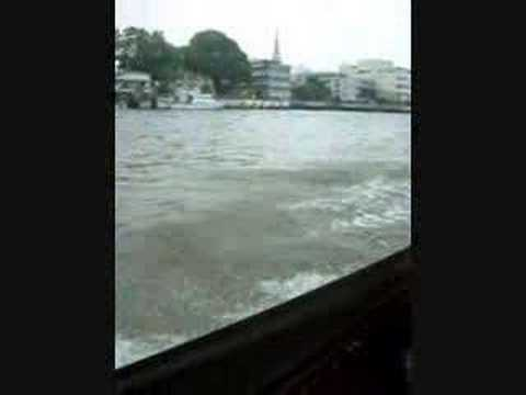 Boat Tour on the Chao Praya River
