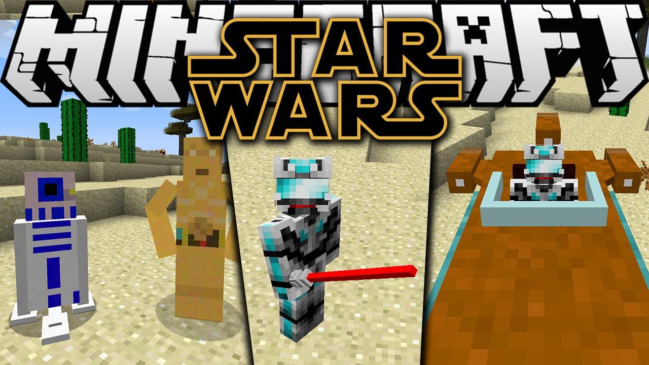 Мод Star Wars для minecraft 1.7.10