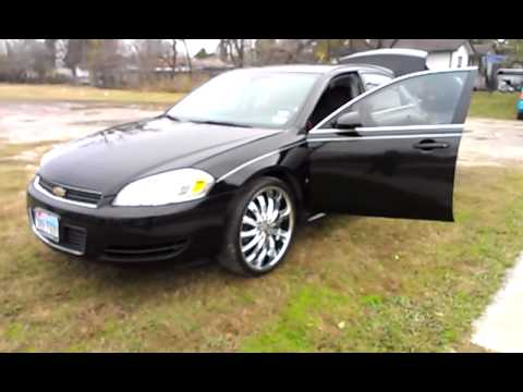 2009 Chevrolet Impala On 22s Bangin YouTube