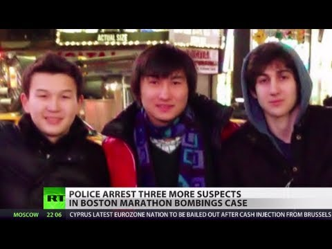Police arrest three more Boston suspects, Tsarnaev's friends